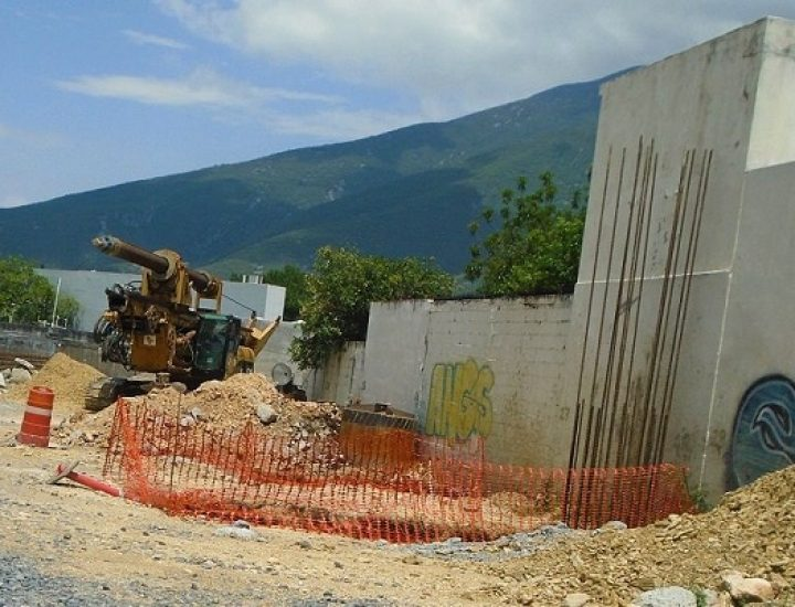 Alistan cimientos para levantar edificio de 'depas' en MTY