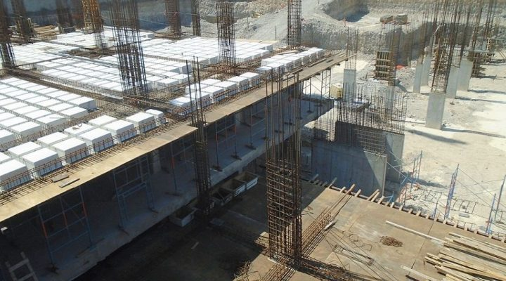 Construirán segunda losa de edificio de usos múltiples