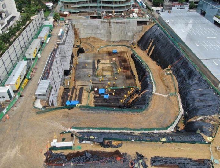 Arranca cimentación de torre habitacional de 36 pisos en San Pedro