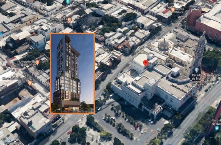 Planean un nuevo vecino 'vertical' para el Casino Monterrey