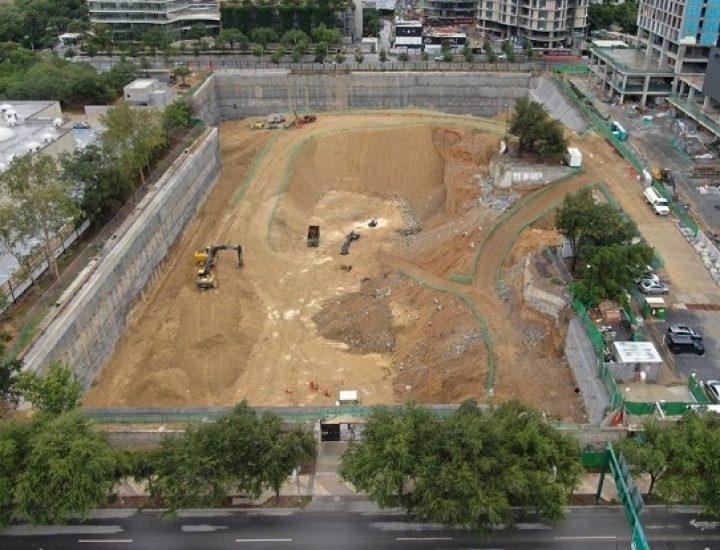 Alistan expansión de distrito vertical en SP; avanza excavación
