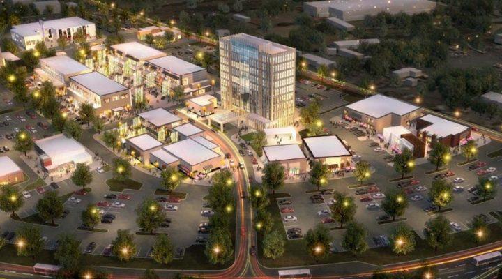 Arrancan construcción de primera etapa de 'town center' en Apodaca