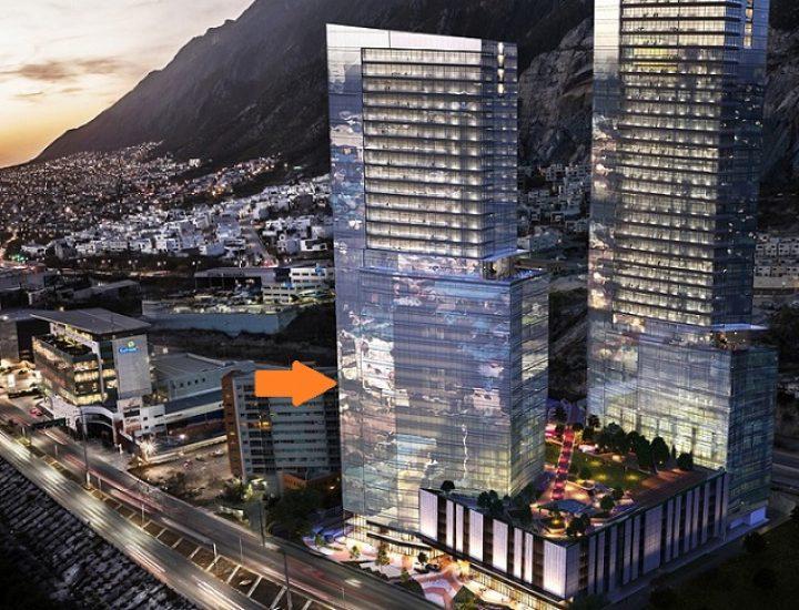 Primera torre de complejo de uso mixto alcanza el nivel 10