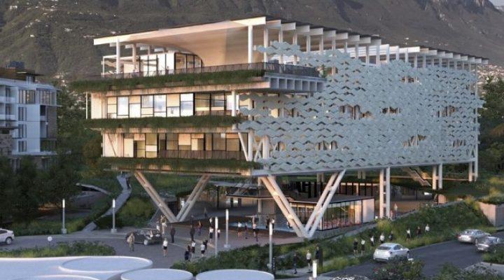 Cimienta constructora global edificio 'Net Zero' en San Pedro