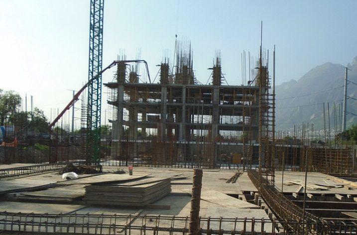 Despega estructura de conjunto habitacional en San Pedro