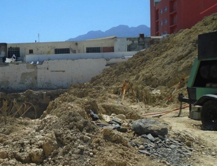 Ejecutan excavación para edificar desarrollo vertical en MTY