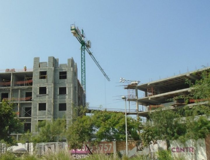 Avanza fase estructural de complejo de vivienda en MTY