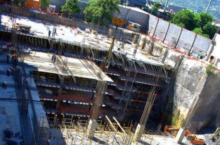 Alcanza superficie estructura de complejo en Santa María