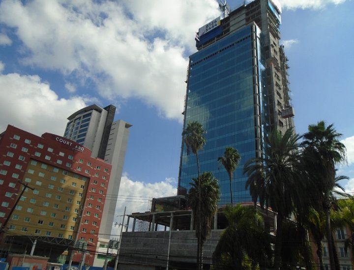 Alcanza 50% avance de torre de usos múltiples en San Jerónimo