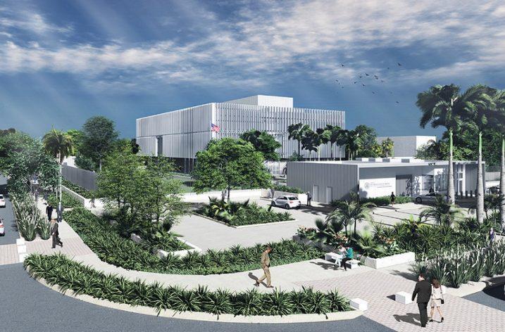 Inician obras preliminares de Consulado de EU en Mérida