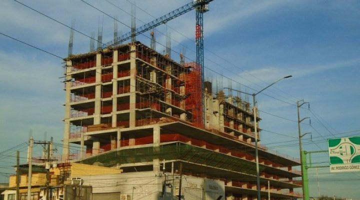 Llega al 50 por ciento estructura de torre mixta en Av. Ruiz Cortines