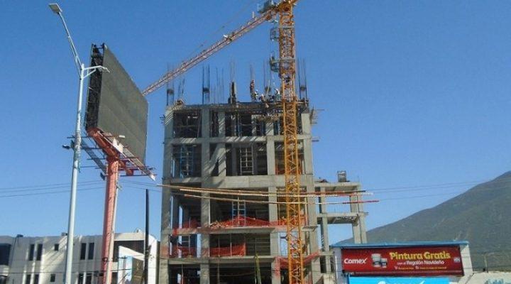 Avanza fase estructural de edificio de vivienda al sur de MTY