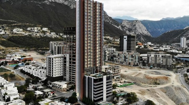 Será la torre más alta de Valle Poniente