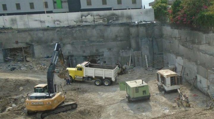 Finalizan excavaciones para levantar corporativo A+