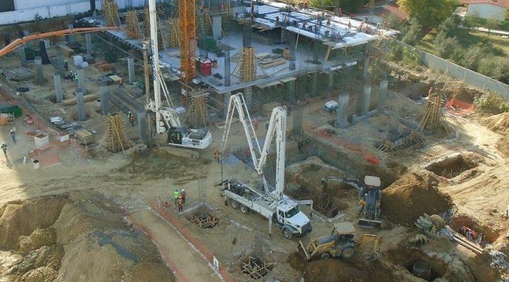 Arranca a paso veloz 'megaproyecto' vertical de 111 mil m2