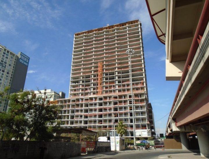 Se ubica en 40% avance de obra de torre en zona Centro