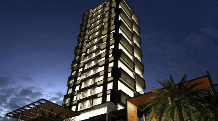 Realizan preconstrucción de torre multiusos en la Av. Garza Sada