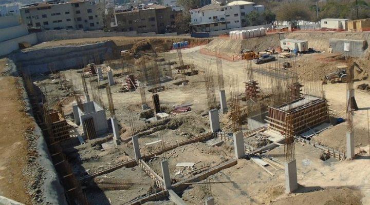 Ejecutan cimentación de conjunto vertical en San Pedro