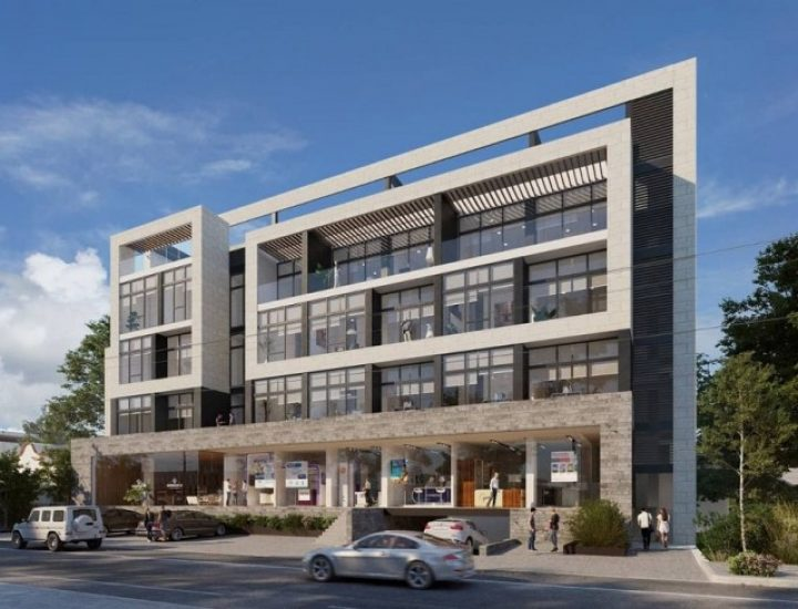 Alistan construcción de complejo de uso mixto en San Pedro