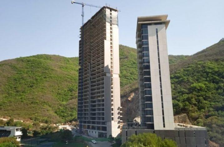 Alcanza altura definitiva nueva torre en la zona Fundadores