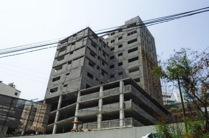 Avanza ejecución de edificio de 'depas' en San Jerónimo