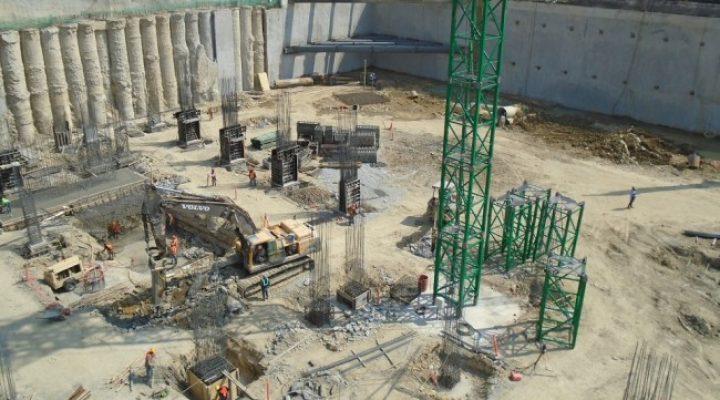 Cimientan complejo de 'torres gemelas' en San Pedro