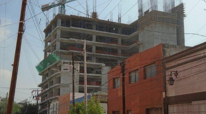 Llega al 50 por ciento estructura de proyecto vertical 'bohemio'