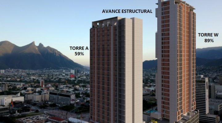Se acelera avance de distrito vertical en el Centro de MTY
