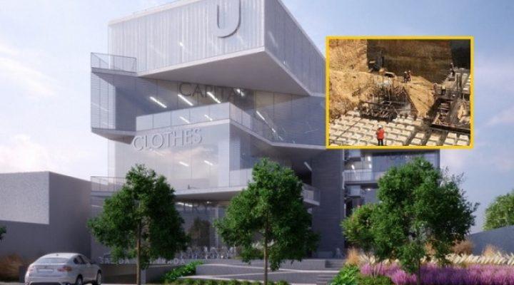 Cuelan 1a losa de complejo con diseño futurista en San Pedro