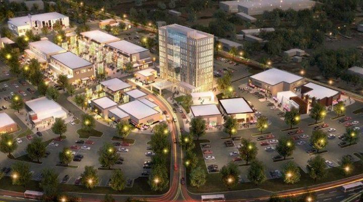 Emergen estructuras iniciales de magno 'town center' en Apodaca