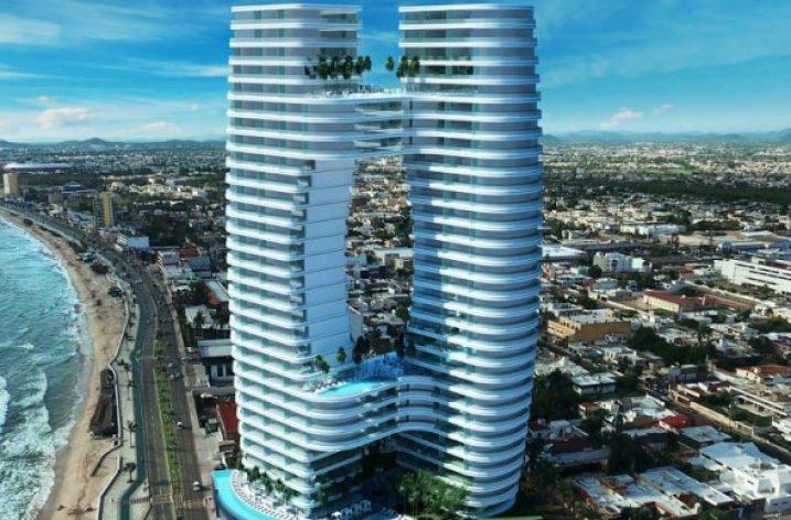 Arranca construcción de torre de más de 130 metros en el Pacífico
