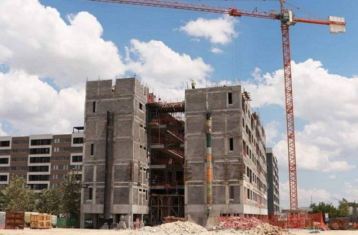 Finalizan fase estructural de torre habitacional en San Nicolás