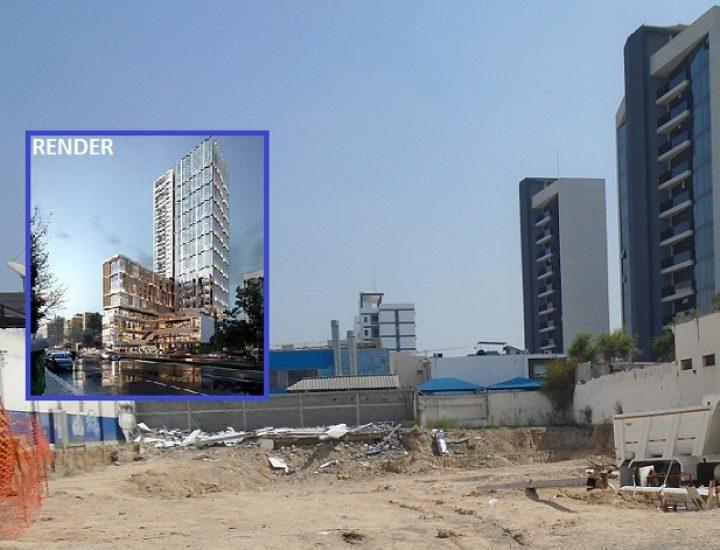 Vuelven a la actividad obras para edificar torre mixta en MTY