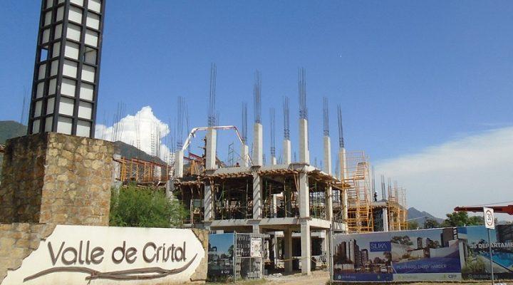Levantan niveles iniciales de residencial con club en Los Cristales