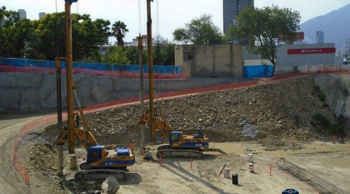 Colocan pilas de cimentación de megatorre de 71 mil m²