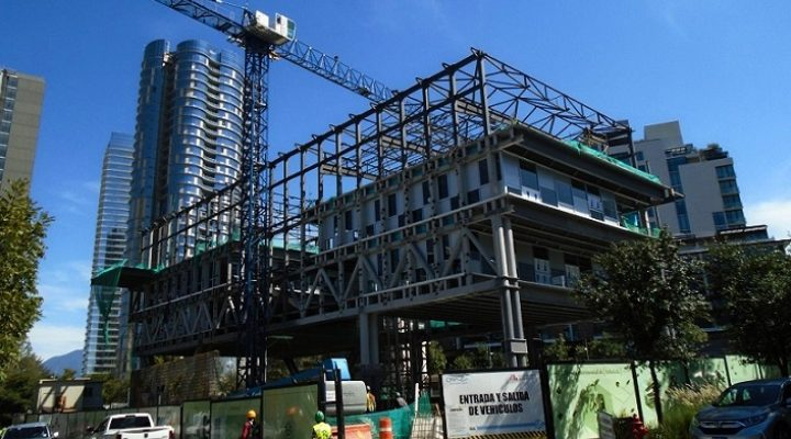 Levantan 'esqueleto' de proyecto hipersustentable en Arboleda