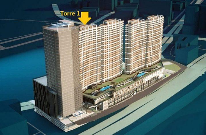 Cimentan primera torre de conjunto vertical en la zona Santa María